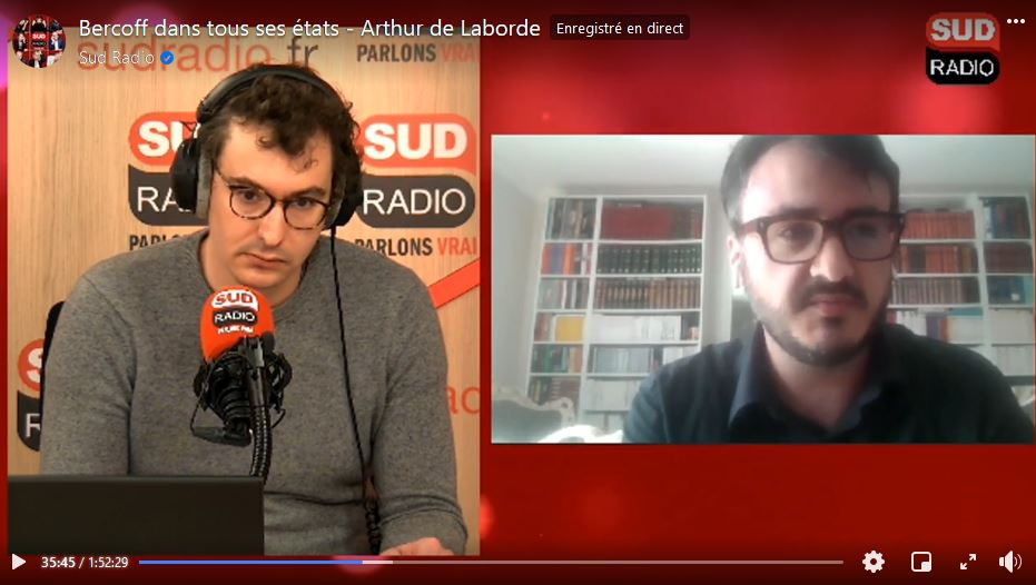 Adrien AZARETE sur SUD RADIO le 18/05/2021