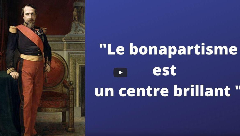 """Thierry Choffat : """" Le bonapartisme est un centre brillant """""""
